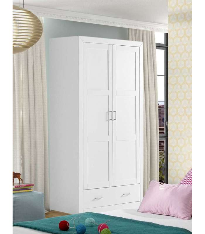 Wardrobe with 2 doors