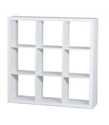 Estanteria mediana kubox 3x3 varios coloresKitCloset