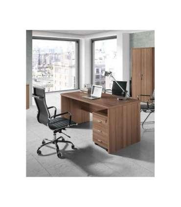 Mesa oficina o despacho en acabado de 3 colores 75 cm(alto)159