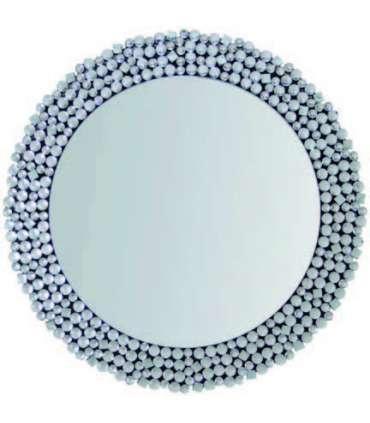 Espejo moderno redondo cristal 80 cm(ancho) 106 cm(altura) 4.2