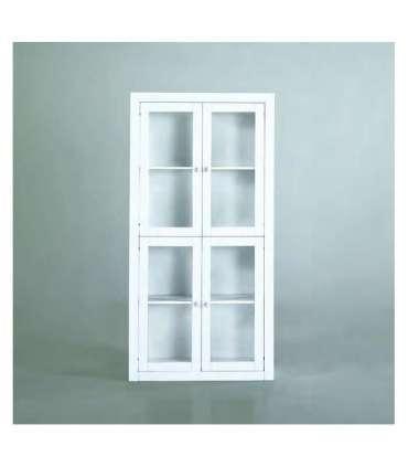 SHOWCASE FOR SALON OR WHITE LACQUERED KITCHEN
