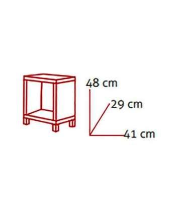 Mesita kubox 1*1 varios coloresKitCloset Armarios-estanterias