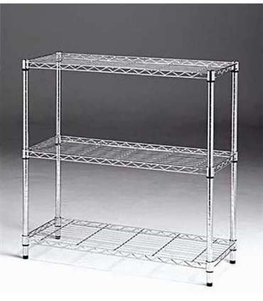 SHELVING 3 SHELVES 90 X 90 X 35 LONG-STYLO