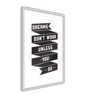 Póster - Dreams Don't Come True on Their Own II - Imagen 1