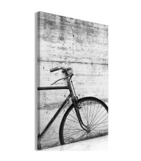 Cuadro - Bicycle And Concrete (1 Part) Vertical - Imagen 1