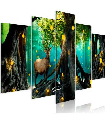 Cuadro - Enchanted Forest (5 Parts) Wide - Imagen 1