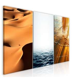 Cuadro - Sand and Water (3 Parts) - Imagen 1