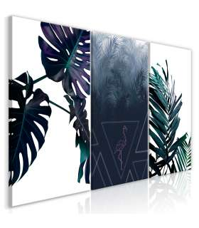 Cuadro - Cool Leaves (3 Parts) - Imagen 1