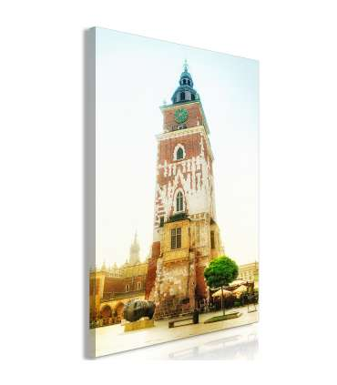 Cuadro - Cracow: Town Hall (1 Part) Vertical - Imagen 1