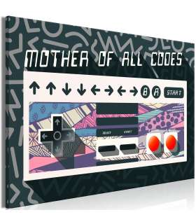 Cuadro - Mother of All Codes (1 Part) Wide - Imagen 1