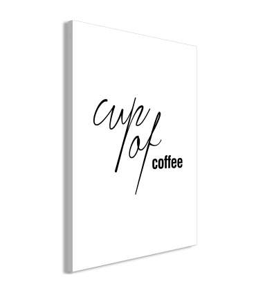 Cuadro - Cup of Coffee (1 Part) Vertical - Imagen 1
