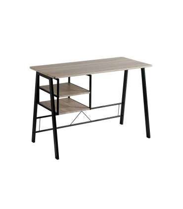 Inicio Mesa escritorio con baldas laterales Andrea 120 x 52 x