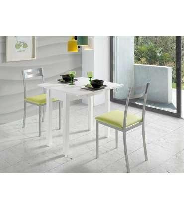 PDCOR Mesas de cocina Mesa de cocina con apertura tipo libro en