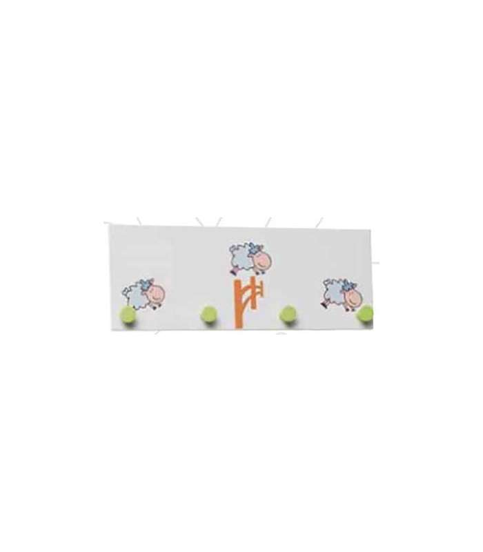 Percha infantil sheep blanco ovejas