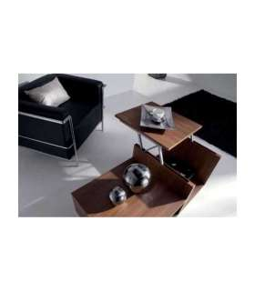 RECTANGULAR WHITE LACQUERED COFFEE TABLE