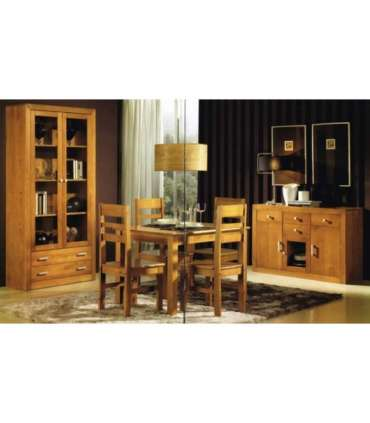 FURNITURE SALON WITH N5 SOLID WOOD BOOKCASE.