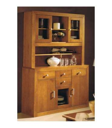 SALON 3 DOORS CUPBOARD SOLID WOOD