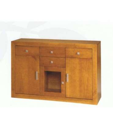 SIDEBOARD 3 DOORS IN SOLID WOOD