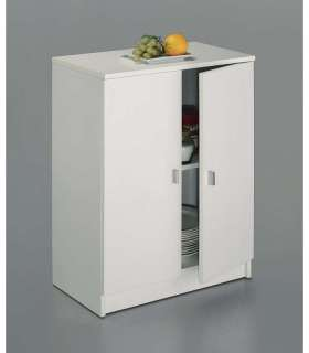 UNDER TWO DOORS WARDROBE WHITE
