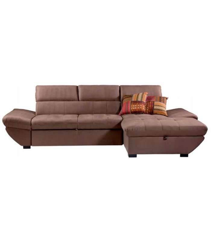 Chaiselongue marron cama y arcon - Chaise longue - Mobistic -  Mobistic -  -