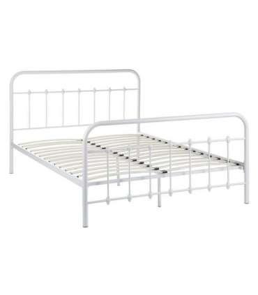 Cama para dormitorio de 150 cm Hierro