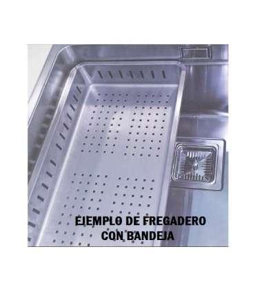 Fregadero de un seno en inox modelo sx4444 Fregaderos ESMEBRA