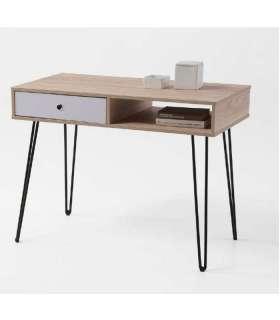 Mesa de escritorio Kala 1 hueco  + 1 cajón.