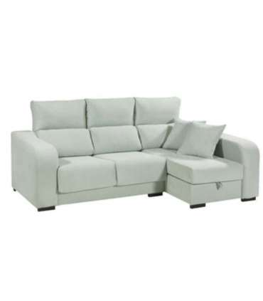 Chaiselongue Vinla gris arcon abatible Chaiselongues Mbtic