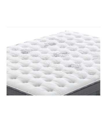 FLEX Colchón muelles ensacados Nimbus Visco Firmeza Media, 150 x 190 cm