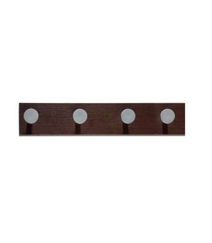 Percha 184 de pared moderna 4 colgadores 3 colores - Perchas - Herdasa -  Herdasa -  -