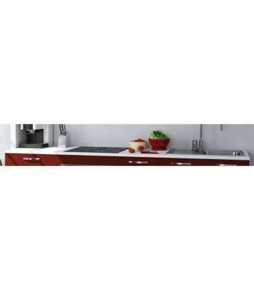 Encimera y zócalo en blanco de 2.40 mMD BLOCK Modulos cocina
