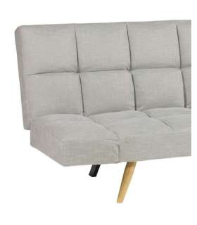 SOFA BED BOOK BLACK OR WHITE LEATHERETTE