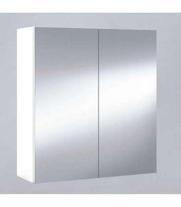Mueble camerino de 2 puertas con espejo Armarios-estanterias