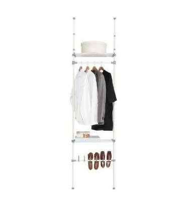 Vestidor para dormitorio 2 baldas y zapatero.KitCloset