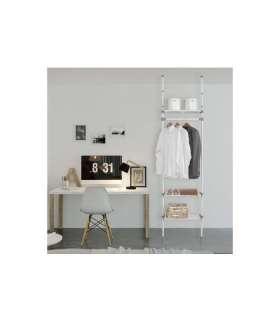 Vestidor para dormitorio 3 baldas.KitCloset Auxiliares